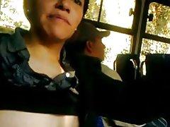 Borste wys in die bus